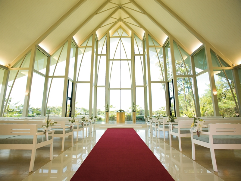Gold Coast Intercontinental Chapel Weddings
