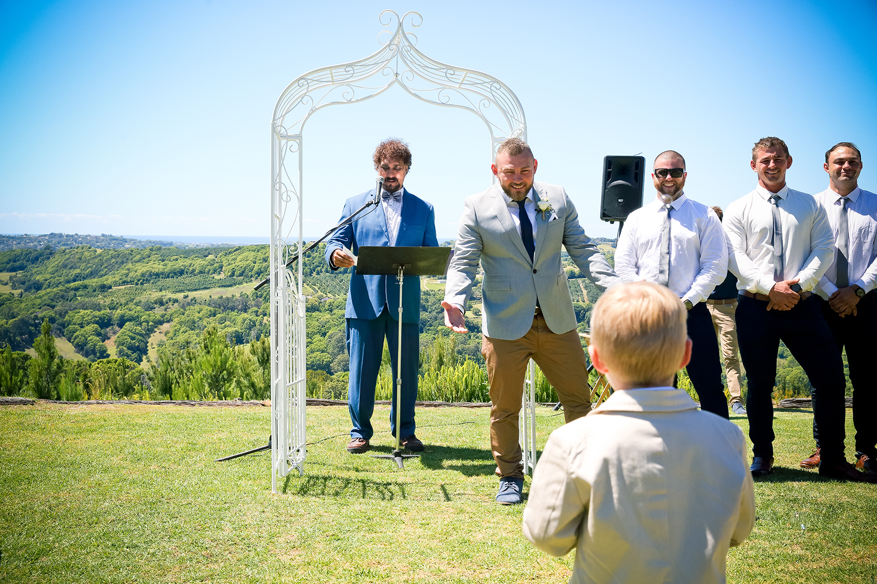 Summer Grove Wedding