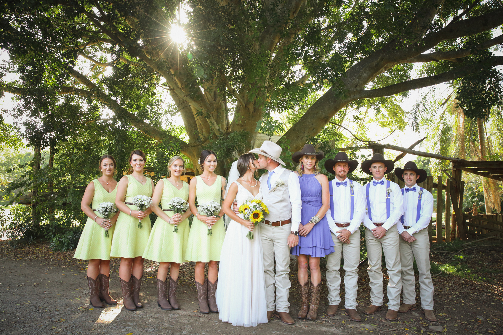 Gold Coast Country Barn Wedding