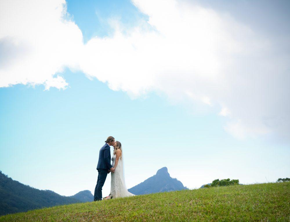 Mavis's Kitchen hilltop Wedding