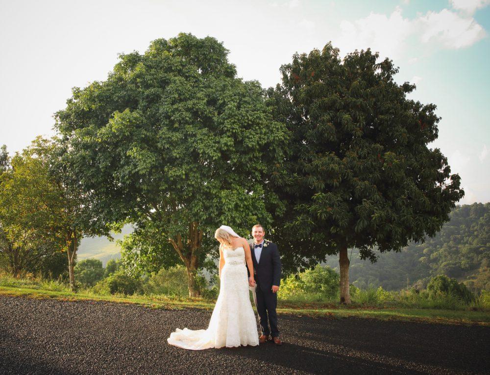 Summer Grove Lawn Wedding