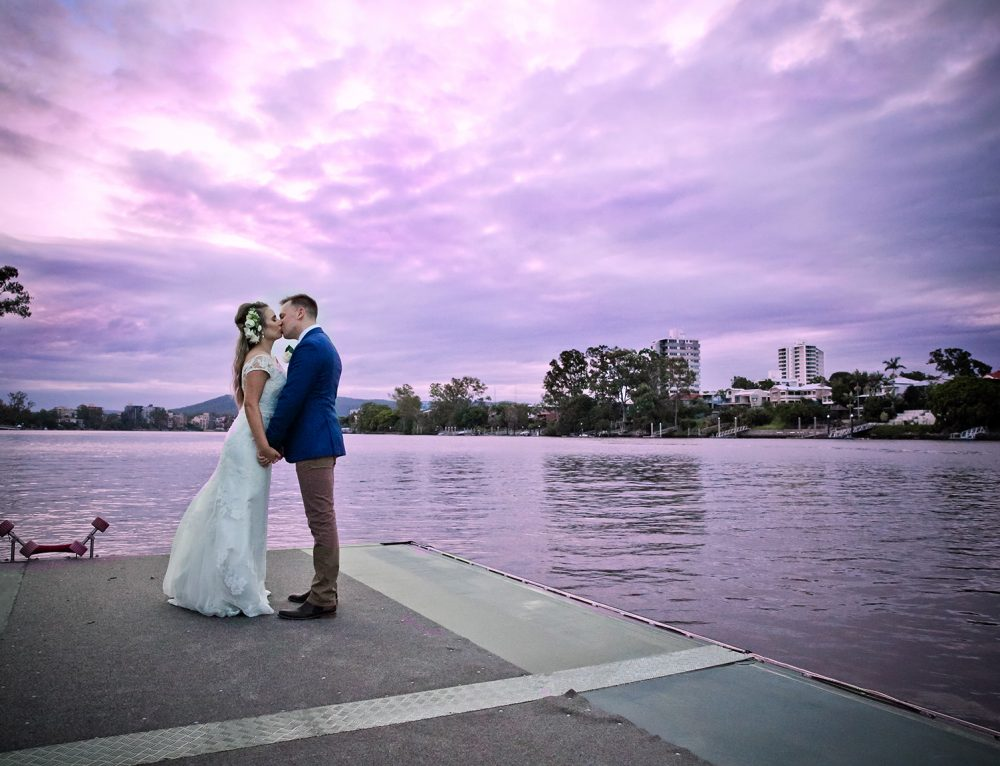 Brisbane Riverside Wedding