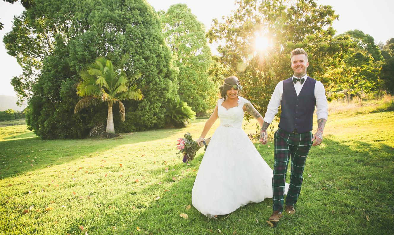 Summer Grove Garden Wedding Gold Coast Wedding Photography