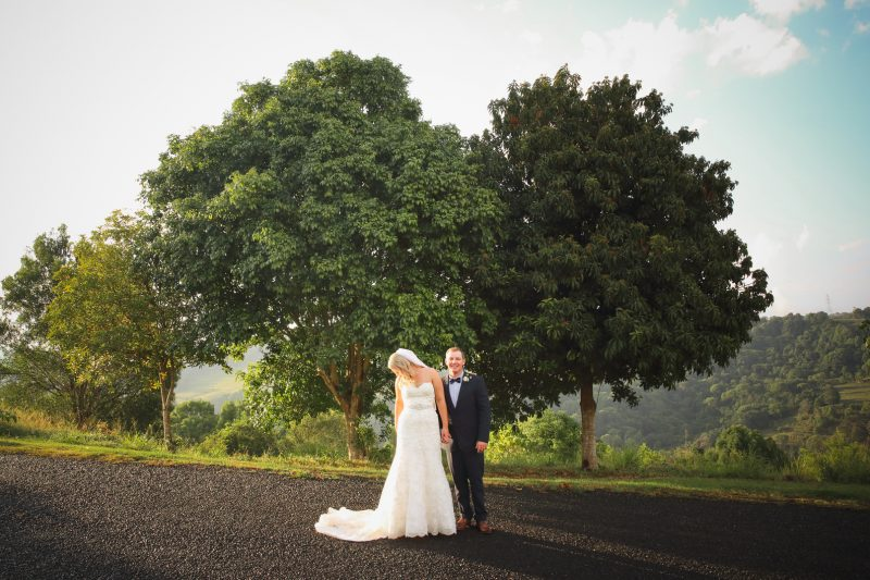 Summer Grove Lawn Wedding