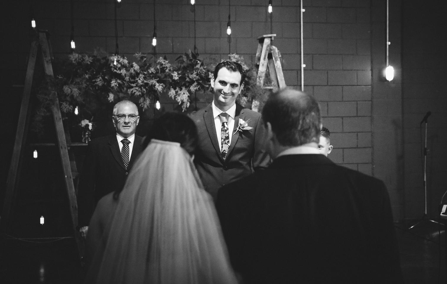 Intimate Lightspace Wedding
